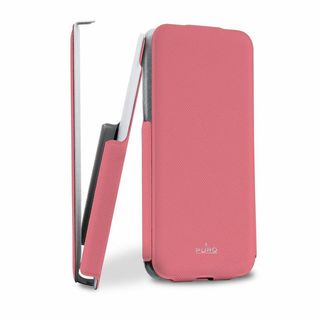 "Etui Apple iPhone 5C Puro ""Flipper Case"" Rose"