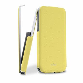 "Etui Apple iPhone 5C Puro ""Flipper Case"" Jaune"