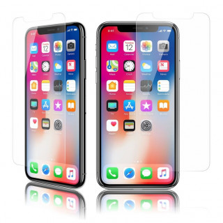 Vitre Protection Ecran iPhone X Optiguard Glass Protect Clear QDOS