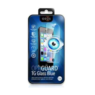 Vitre Protection Ecran iPhone 6 Plus/6s Plus Optiguard Glass Blue LightQDOS