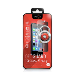 Vitre Protection Ecran iPhone 6 Plus/6s Plus Optiguard Glass Privacy QDOS