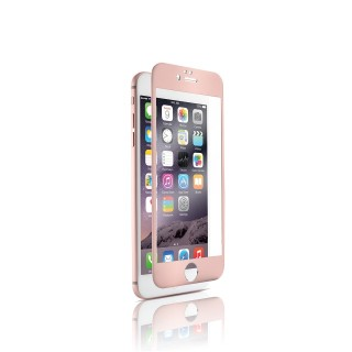 Vitre Protection Ecran iPhone 6 Plus/6s Plus Optiguard Glass Titanium Or Rose QDOS