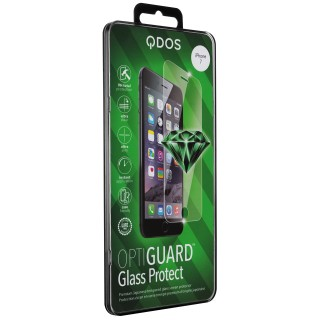 Vitre Protection Ecran iPhone 6/6s/7/8 Optiguard Glass Clear QDOS