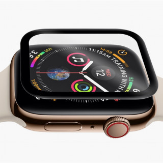 Protection Verre Ecran Apple Watch Series 4/5 (40mm) OrganiGlass Curve QDOS