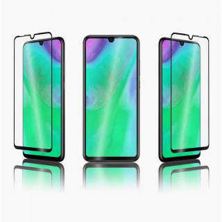 Vitre Protection Ecran Huawei P30 Lite (2019) Optiguard Flat Glass Noir QDOS