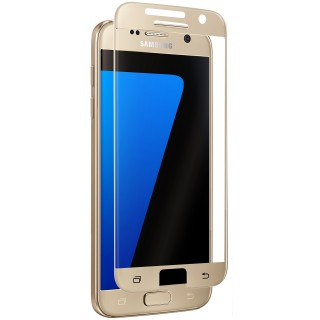Vitre Protection Ecran Samsung Galaxy S7 Optiguard Glass Protect Or QDOS