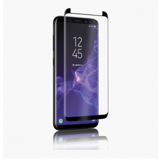 Vitre Protection Ecran Samsung Galaxy S9 Plus Optiguard Glass Curve Noir QDOS
