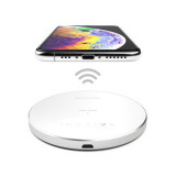 Chargeur Induction Smartphone Satechi Argent/Blanc