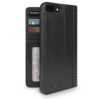 Etui iPhone 7 Plus/8 Plus Twelve South Journal Cuir Noir