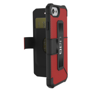 Etui Folio Apple iPhone 7/8/6s/6 UAG Metropolis Rouge