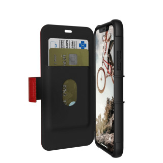 Etui Folio Apple iPhone XS/X UAG Metropolis Rouge
