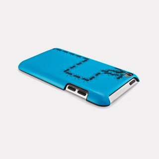 "Coque QDOS iPod Touch 4G ""Streets Smarts"" Ants Bleues"