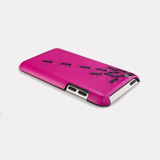 "Coque QDOS iPod Touch 4G ""Streets Smarts"" Ants Roses"