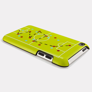 "Coque QDOS iPod Touch 4G ""Gaming"" Football Vert"