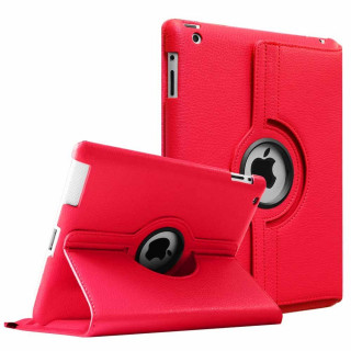 Etui Apple iPad Air 2/3/4 Rotatif Rouge