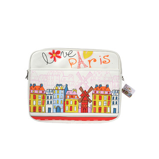 "Sacoche Reporter Ordinateur PC 15"" Paris Design Akashi"