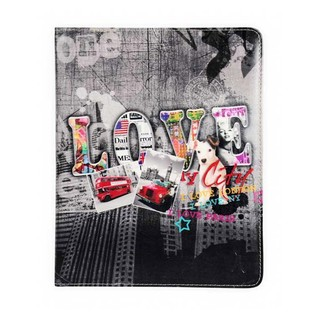"Etui Apple iPad Air/iPad Air 2 ""I Love My City"" Akashi"