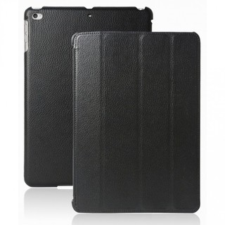 "Etui Apple iPad Air/iPad Air 2 Akashi ""Lézard"" Noir"