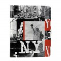 "Etui Apple Nouvel iPad / Nouvel iPad Retina Akashi ""NYC Statue"" avec support"
