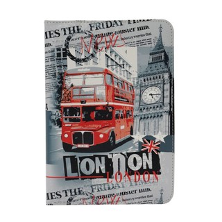 "Etui Apple iPad Mini/iPad Mini 2 Retina/iPad Mini 3 ""London News"" Akashi"
