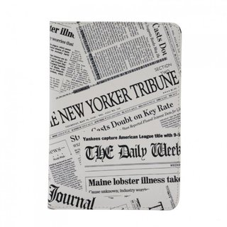 "Etui Apple iPad Mini/iPad Mini 2 Retina/iPad Mini 3 ""Newspaper"" Akashi"