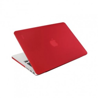 "Coque Apple MacBook Pro Retina 15"" Artwizz Rubber Clip Rouge"