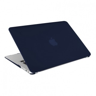 "Coque Apple MacBook Air 13"" Artwizz Rubber Clip Bleu Marine"
