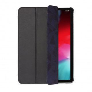 "Etui Apple iPad Pro 12.9"" (2021) Decoded Folio Slim Cuir Noir"