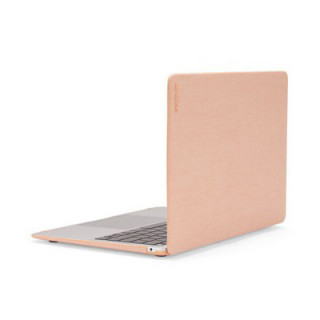"Coque Apple MacBook Air 13"" (2018) Incase HardShell Tissu Woolenex Blush Pink"