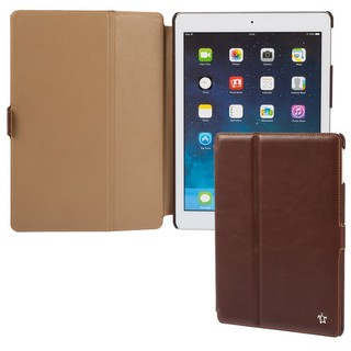 "Housse Apple iPad Air Issentiel ""Prestige"" Cuir Chocolat/Camel"