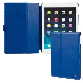 "Housse Apple iPad Air Issentiel ""Prestige"" Cuir Bleu Royal"