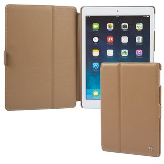 "Housse Apple iPad Air Issentiel ""Prestige"" Cuir Camel"