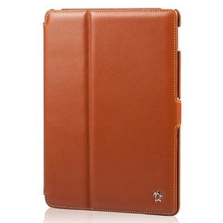 "Housse Apple iPad Air 2 Issentiel ""Prestige"" Cuir Cognac"