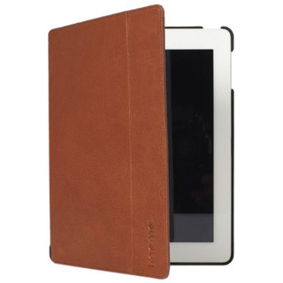 Etui Folio Apple iPad 2/3/4 Knomo Cuir Camel