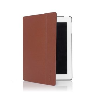 Etui Folio Apple iPad 2/3/4 Knomo Cuir Cognac