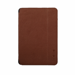 Etui Folio Apple iPad Mini Knomo Cuir Cognac