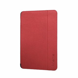 Etui Folio Apple iPad Mini Knomo Cuir Rouge