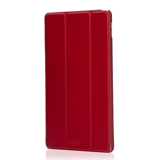 Etui Folio Apple iPad Air 2 Knomo Cuir Rouge