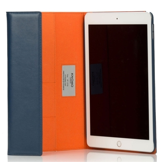 Etui Folio Premium Apple iPad Air 2 Knomo Cuir Bleu