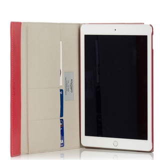 Etui Folio Premium Apple iPad Air 2 Knomo Cuir Rouge