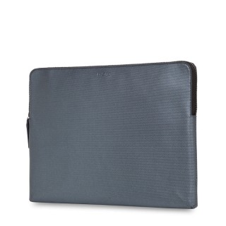 "Housse MacBook 12"" Knomo Embossed Gris Argent"