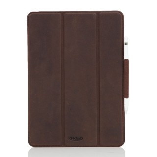 "Etui Folio Apple iPad Pro 9.7"" Knomo Cuir Marron"