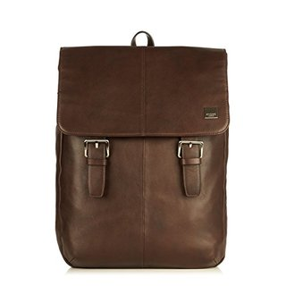 "Sac à Dos Ordinateurs 15.6"" Knomo Hudson Cuir Marron"