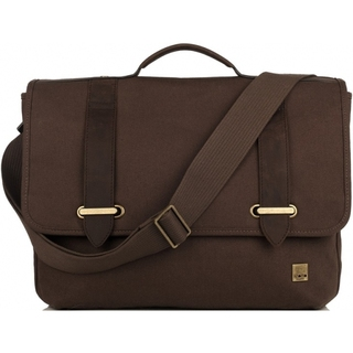 "Sac Bandoulière Ordinateurs 15"" Knomo Raleigh Marron"