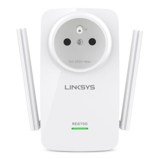 Amplificateur Signal WiFi Sans Fil Double Bande Linksys Amplify AC1200