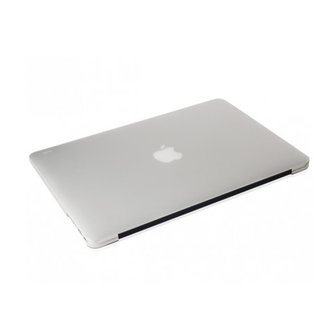 "Coque Apple MacBook Air 13"" iGlaze Moshi Transparente"