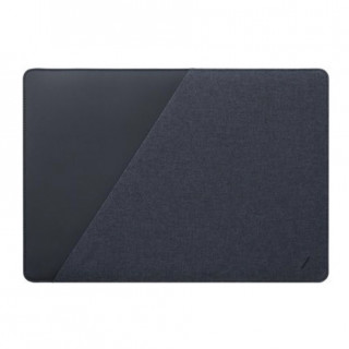 "Housse Stow Slim Apple MacBook Pro 13"" (fin 2016+)/MacBook Air 13"" Retina (2018+) Native Union Bleu"