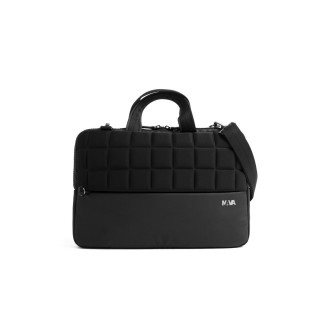 "Sacoche Ordinateur 15.6"" Nava Design Passenger Action Briefcase Noire PA019AN"