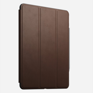 "Etui Apple iPad Pro 11"" (2020) Nomad Rugged Folio Cuir Marron"
