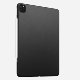 "Coque Apple iPad Pro 12.9"" (2020) Nomad Rugged Case Cuir Noir"